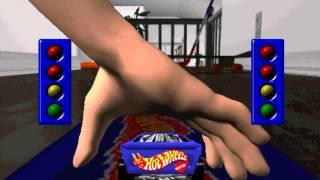 getlinkyoutube.com-PC Hot Wheels Stunt Track Driver part 1
