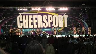 getlinkyoutube.com-Top Gun Large Coed @ Cheersport 2016