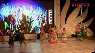 CHand aaya hai zammen pe Kathak GENESIS VIBES 2015 VBC 3