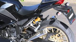 getlinkyoutube.com-NINJA250 PURE SPORT TWOTAIL マフラーのサウンドが聴けます!
