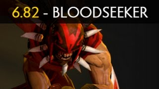 getlinkyoutube.com-Dota 2 - 6.82 Bloodseeker (Hero Spotlight)