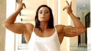 getlinkyoutube.com-Young Female Bodybuilding Star Kayla