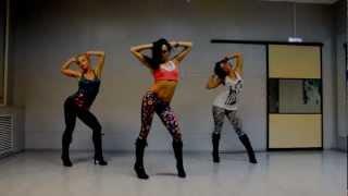 getlinkyoutube.com-Lesson for beginner Go-Go Dance -High Heels (Kat Graham) choreo Katya Flash