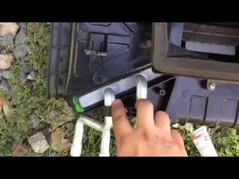 Замена радиатора печки KIA Sorento