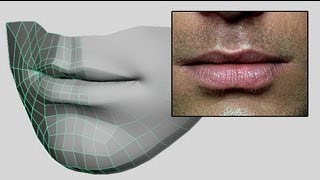 getlinkyoutube.com-How to Model Lips & Mouth - Low Poly Beginner 3D Modeling Tutorial