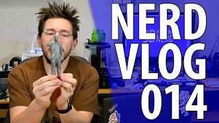 getlinkyoutube.com-Nerd Vlog 014 - Random 3D Printing Update