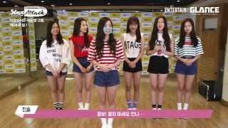 getlinkyoutube.com-150826 APRIL(에이프릴) Interview with Glance TV
