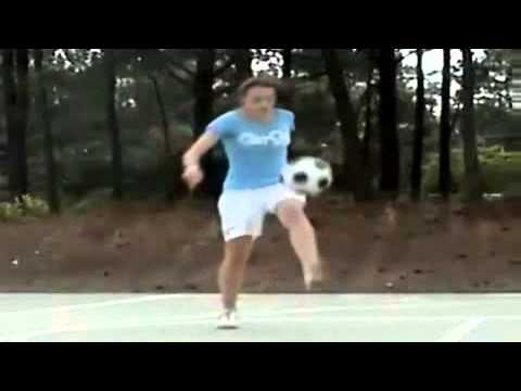 Amazing Soccer Girl from www metacafe com
