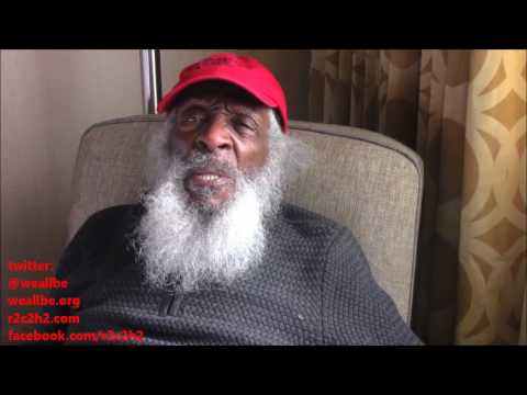 Comedian Dick Gregory says there are two suns and Donald Trump is a shadow