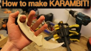 getlinkyoutube.com-How To Make A KARAMBIT KNIFE