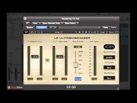 Audio Mastering in Logic - How to Use a Waves L2 Limiter