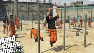GTA 5 PC Mod's - Prison Mod (Epic Prison Break!)