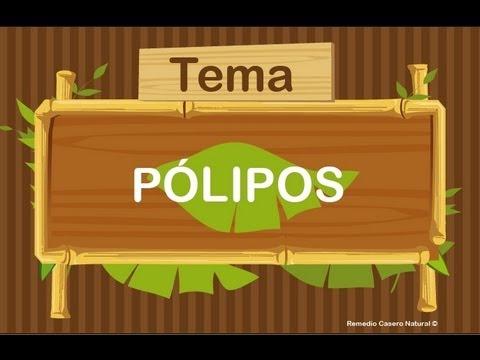 Jugo natural para pólipos