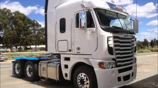 getlinkyoutube.com-freightliner argosy 2012 demo truck