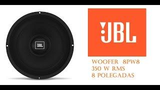 getlinkyoutube.com-WOOFER PROFISSIONAL JBL 8PW8 8 POL. 350 RMS