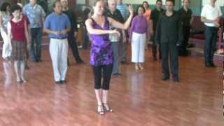 getlinkyoutube.com-Argentine Tango Waltz Vals Basic steps and timing  Mat & Mirabai www.tangonation.com  7/10/2011