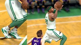 getlinkyoutube.com-NBA 2K17 4K My Career - Freethrow Dunk! Lakers Record PS4 Pro