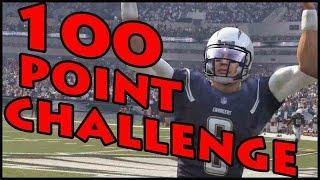 getlinkyoutube.com-100 POINT CHALLENGE!! - Madden 16 Ultimate Team | MUT 16 XB1 Gameplay