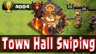 getlinkyoutube.com-Clash of Clans - How To Get 4000 Trophies by Town Hall Sniping!