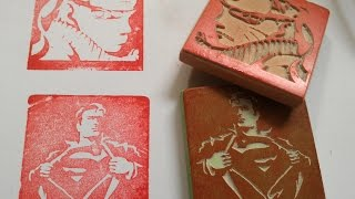 getlinkyoutube.com-CO2 laser engraves rubber stamp, China laser cutting and engraving machine,