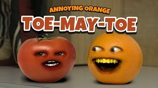 getlinkyoutube.com-Annoying Orange - TOE-MAY-TOE