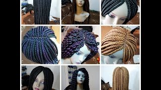 getlinkyoutube.com-Box braid and Senegalese twist WIG (Place your order now)