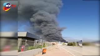 Son dakika Antalya Haber: Organize Sanayide yangın