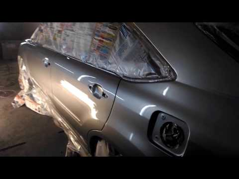 Грунтовка и покраска Lexus 330