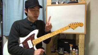 getlinkyoutube.com-ギターレッスン【キレのあるカッティングの秘訣】左手の使い方