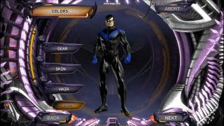 DC Universe Online Nightwing character creation(HD)