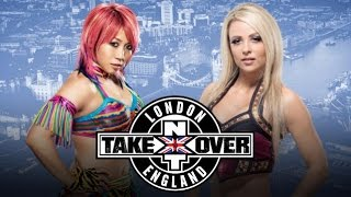 WWE 2K16 NXT TAKEOVER LONDON 2015 - Asuka vs. Emma