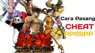 Cara Pasang Cheat PPSSPP (Tekken 6 Cheat) Link Download ada di deskripsi
