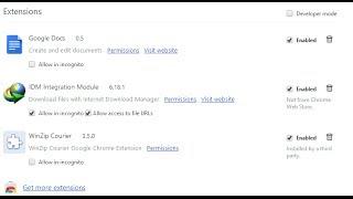 getlinkyoutube.com-How to fix IDM extension problem in chrome