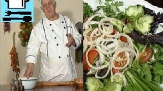 getlinkyoutube.com-Грузинская закуска. Как правильно нарезать овощи и зелень? Грузинская кухня. Рецепт ТВ