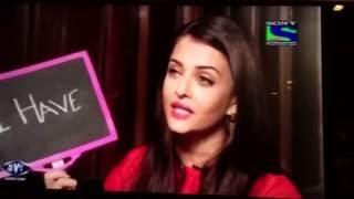 getlinkyoutube.com-I never had a crush on Abhishek Bachchan - Aishwarya Rai Bachchan | Karan Singh Chhabra | Rapid fire