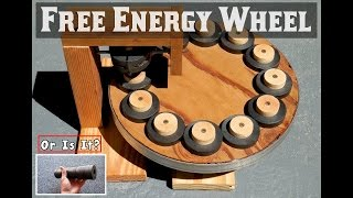 getlinkyoutube.com-FREE ENERGY WHEEL ~ Using Ring Magnets ~ EXPOSED!