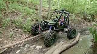getlinkyoutube.com-Mini Rock Crawler Built for a 5 year old