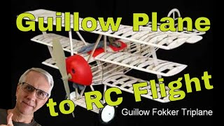getlinkyoutube.com-How to Convert a Guillow Model Plane to Radio Control Flight
