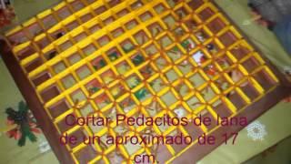 getlinkyoutube.com-Como hacer un tapete de lana