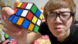 getlinkyoutube.com-ルービックキューブ初挑戦!10分で解いてやる!