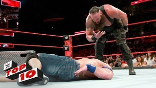 Top 10 Raw moments: WWE Top 10, September 11, 2017