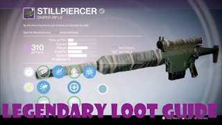 "getlinkyoutube.com-Destiny TTK Legendary Loot Guide - ""Stillpiercer"" Sniper Rifle"