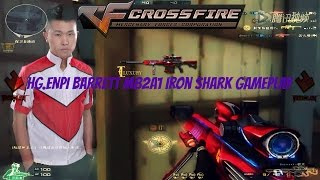 getlinkyoutube.com-HG.Enpi Barrett M82A1-Iron Shark[Vip] Gameplay[Crossfire]