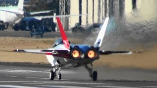 getlinkyoutube.com-先進技術実証機 X-2 アフターバーナーON フル加速 Mitsubishi X-2 Full Acceleration with AfterBurner