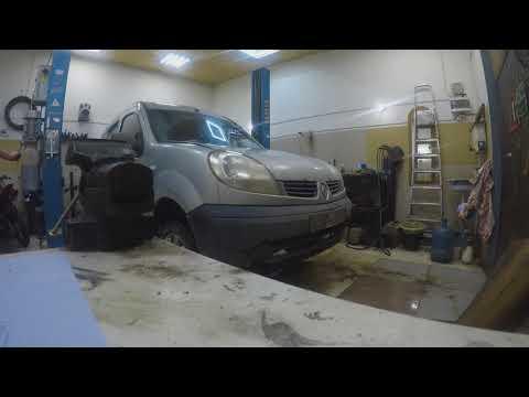 Расположение у Renault Кенго щупа коробки передач