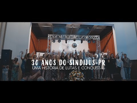 30 anos do Sindijus-PR: uma história de lutas e conquistas
