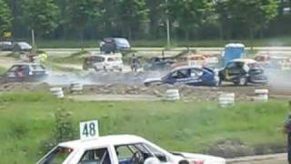 getlinkyoutube.com-rallycross crashes Nieuw-Vennep 2010