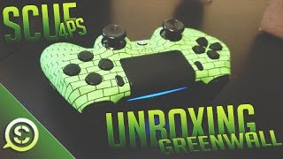 getlinkyoutube.com-NEW! OpTic Greenwall Scuf Controller 4PS Unboxing! @ScufGaming @OpTicGaming