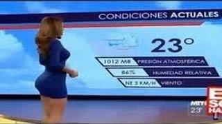 getlinkyoutube.com-اجمل مذيعات مكسيكيات جميلات فى نشرات الاخبار الجوية