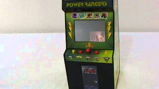 getlinkyoutube.com-Power Rangers Electronic Talking Arcade Bank
